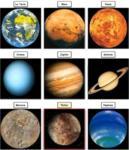 星 - Les planètes du système solaire