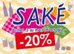 [Annonce] Foire aux sake à Kioko - du 3 au 16 octobre 2018