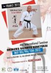 [Annonce] Stage de Gojuryu Kenkyukai dirigé par Taira Masaji Sensei - 8 au 10 mai 2015