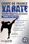 [annonce] 上地流フランス大会 - Coupe de France de Uechi-ryu - 25 mai 2013