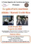 [Annonce] Gala des arts martiaux de l'USC - 19 juin 2014