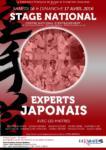 [Annonce] Stage des experts japonais zone Sud - 16/17 avril 2016
