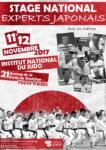 [Annonce] Stage des Experts Japonais à Paris - 11 et 12 novembre 2017