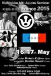 [Annonce] Stage de Kishinjuku Aikijûjutsu - 16/17 mai 2015