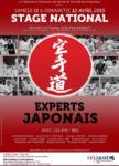 [Annonce] Stage des experts japonais zone sud - 11/12 avril 2015