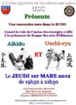 [Annonce] Rencontre Aikido et Uechi-ryu - 1er mars 2012