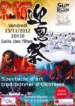 [Annonce] Spectacle d'art d'Okinawa - 23 novembre 2012