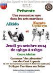 [Annonce] Echange Aikido/Uechi-ryû - 30 octobre 2014