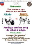 [Annonce] Echange Aikido/Uechi-ryû - 30 octobre 2014