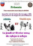 [Annonce] Cours commun aikido/uechi - 27 février 2014